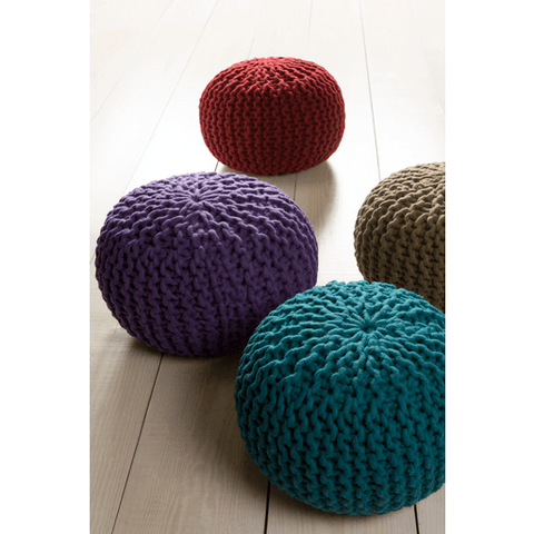 Fargo Pouf ~ Dark Green - Cece & Me - Home and Gifts