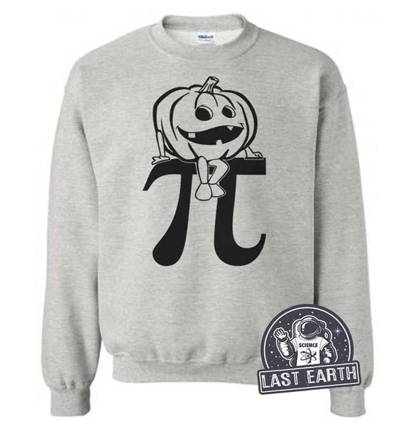 Pumpkin Pi Sweatshirt Funny Nerdy Math Sweatshirt Funny Pumpkin Sweater Geek Mens Womens Pumpkin Patch Gifts For Teachers Student School Fun