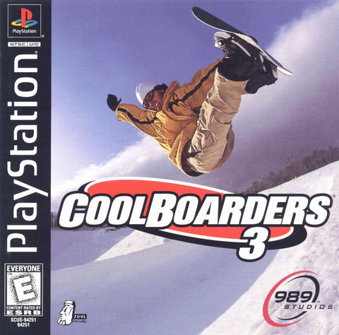 Cool Boarders 3 (Sony PlayStation, 1998)