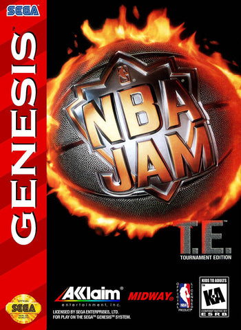 NBA Jam Tournament Edition (Sega Genesis, 1995)