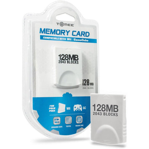 128MB Memory Card for GameCube/Wii (Tomee)