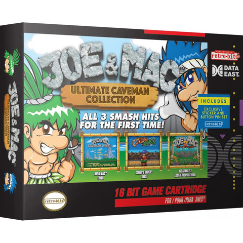 Joe & Mac Ultimate Caveman Collection (Nintendo SNES, 2018)