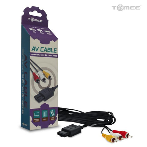 SNES/N64/GameCube AV Cable (Tomee)