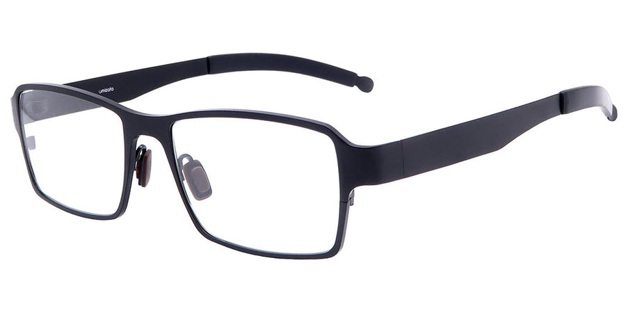 Everest Black Computer Glasses front