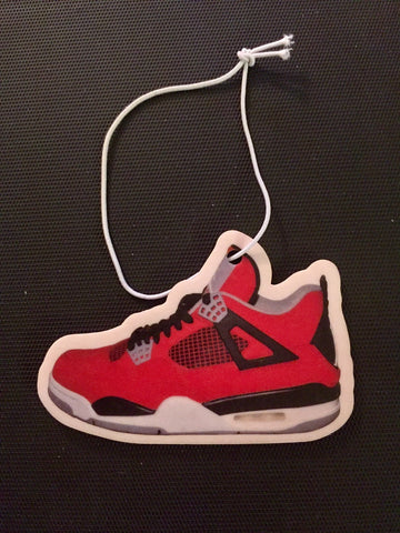 "Air Jordan Retro 4 ""Toro"" Car Freshener LexCustoms"