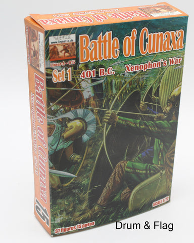 Linear-A 015 Persians - Battle of Cunaxa - Xenophon's War Set #1. 1/72 Scale