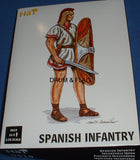 HAT 9019 SPANISH INFANTRY - PUNIC WARS. 1/32 SCALE (54mm)