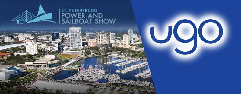 Meet ugo at the 41st Annual St. Petersburg Power & Sailboat Show