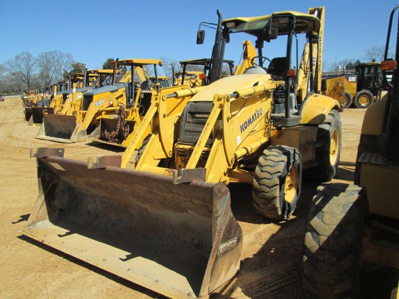 Komatsu WB150 AWS-2N Backhoe Loader Official OEM Worksop Service Repair Manual