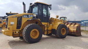 Caterpillar 950H, 962H and IT62H Wheel Loader Hydraulic System Interactive Schematic Manual