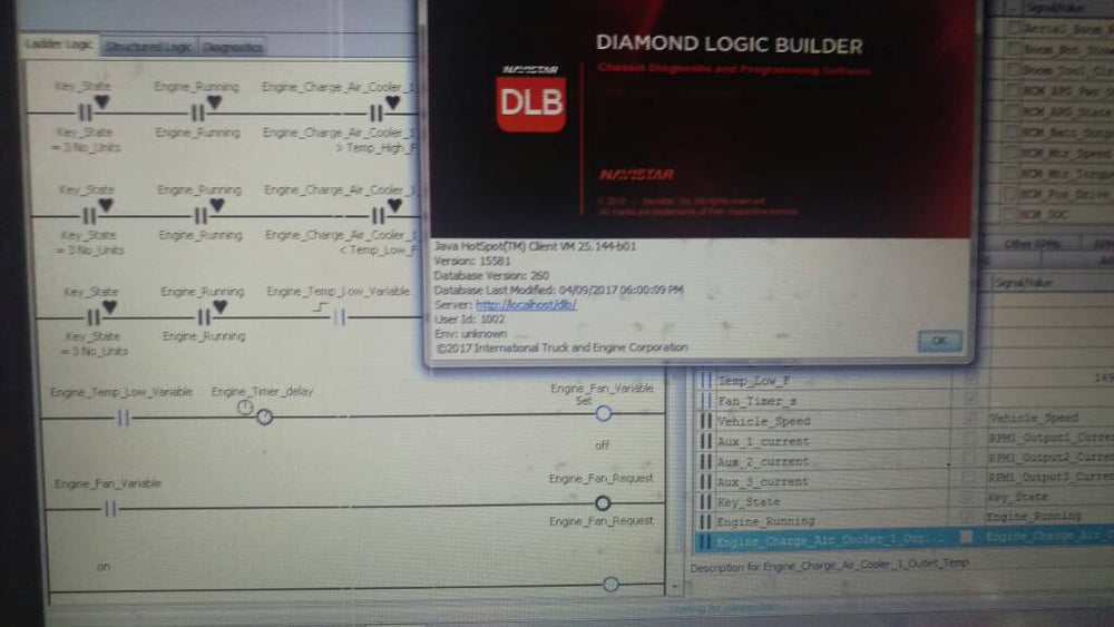 International Diamond Logic Builder (DLB) 2017 Diagnostic Software - Level3 - All Parametres & Options Enabled !! Online Installation Service Included !