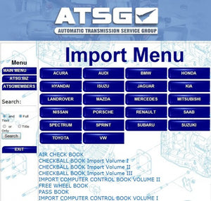 ATSG 2017 Automatic Transmission Service Group-All Bulletins And Guides Included - EPC - Diagnostics & Service Software
