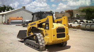 Komatsu CK30-1 Crawler Skid Steer Loader OEM Official Workshop Service Repair Manual
