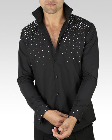 Quick Dry Dance Shirt Sparkles