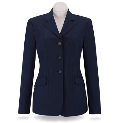 RJ Classics Nora Ladies Show Coat - Navy - Equestrian Chic Boutique