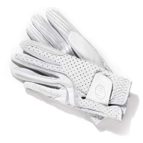 Samshield V-Skin Gloves - White - Equestrian Chic Boutique