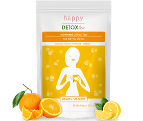 Thé détox orange citron happydetoxtea