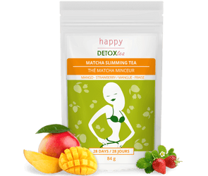 Thé matcha minceur Happy Detox Tea_Face
