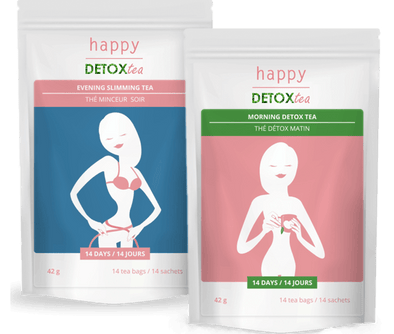 Teatox : Detox Tea and Slimming tea Happy Detox Tea
