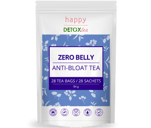 Zero Belly - Thé anti-ballonnement et ventre plat - Happy Detox Tea