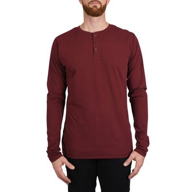 mens-tall-henley-shirt-red