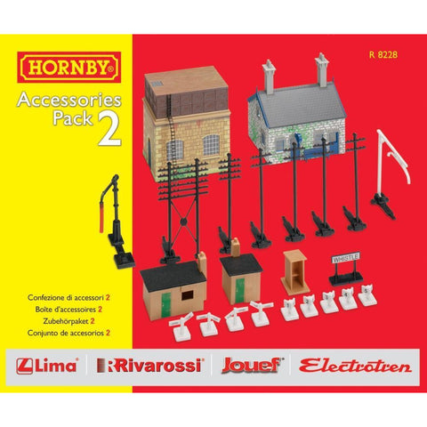 HORNBY TRAKMAT ACCESSORIES PACK NO. 2 - Hearns Hobbies Melbourne - HORNBY