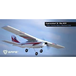 Image of E-Flite Apprentice S 15E RTF Mode 2 - Hearns Hobbies Melbourne - E-FLIGHT - 1