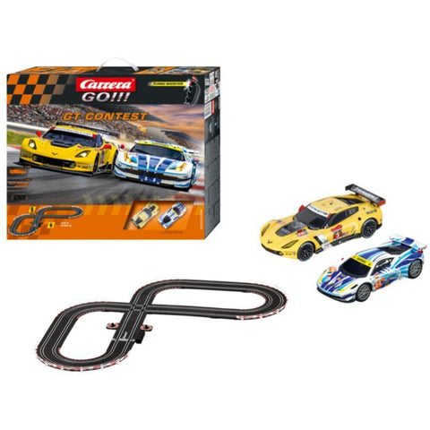 GO!!! GT Contest Slot CARRERA Set - Hearns Hobbies Melbourne - CARRERA