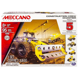 MECCANO 5 Model Set (Construction Crew)