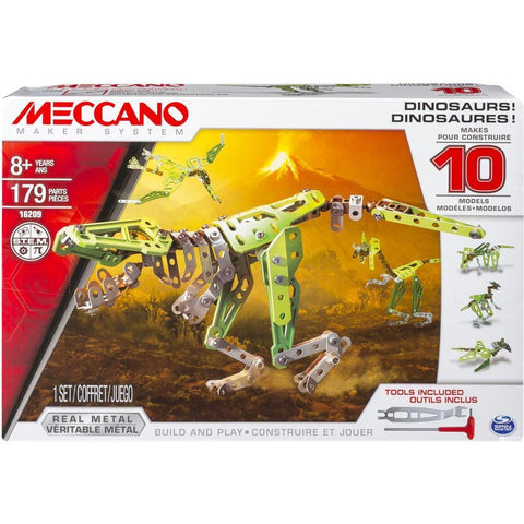 MECCANO 10 Model Set (Dinosaurs)