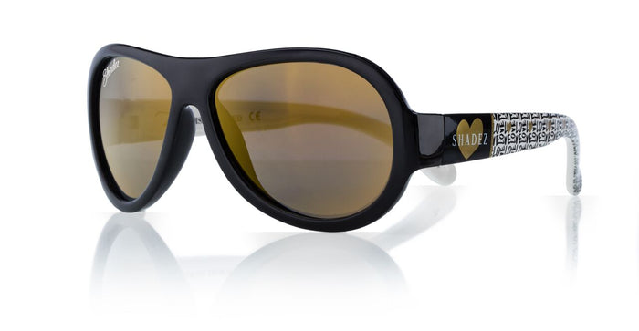 Designer Aviator - Love Black (7-12 yrs)