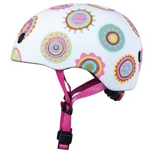 MICRO Helmet PC - Doodle Dot Matt - Sizes: XS / S / M
