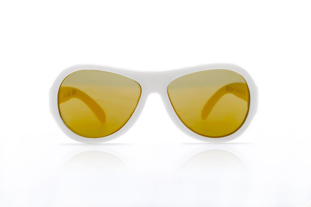 Aviators - White (0-3 / 3-7 / 7-12 yrs)