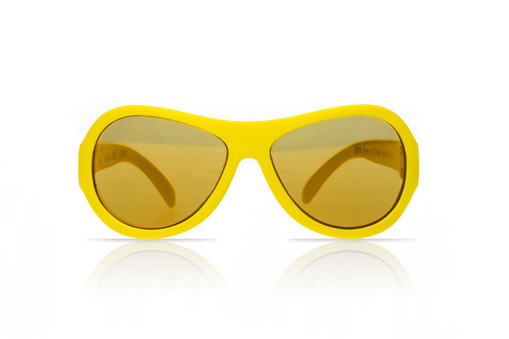 Aviators - Yellow (0-3 / 3-7 / 7-12 yrs)