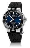 Oris Aquis Date Black and Dark Blue 43mm Dive Watch