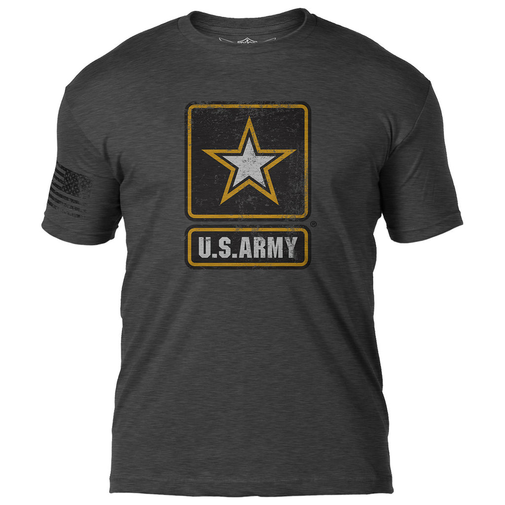 Army 'Distressed Logo' 7.62 Design Battlespace Men's T-Shirt- 7.62 Design