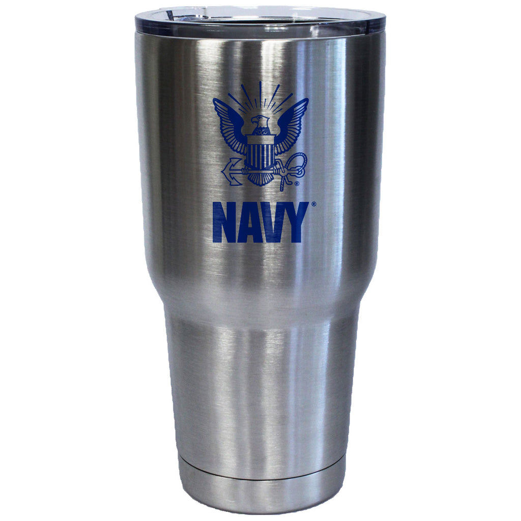 7.62 Design 32oz USN Logo Stainless Steel Tumbler- 7.62 Design