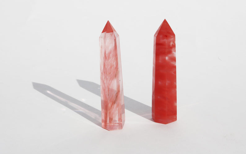 Cherry Quartz Towers