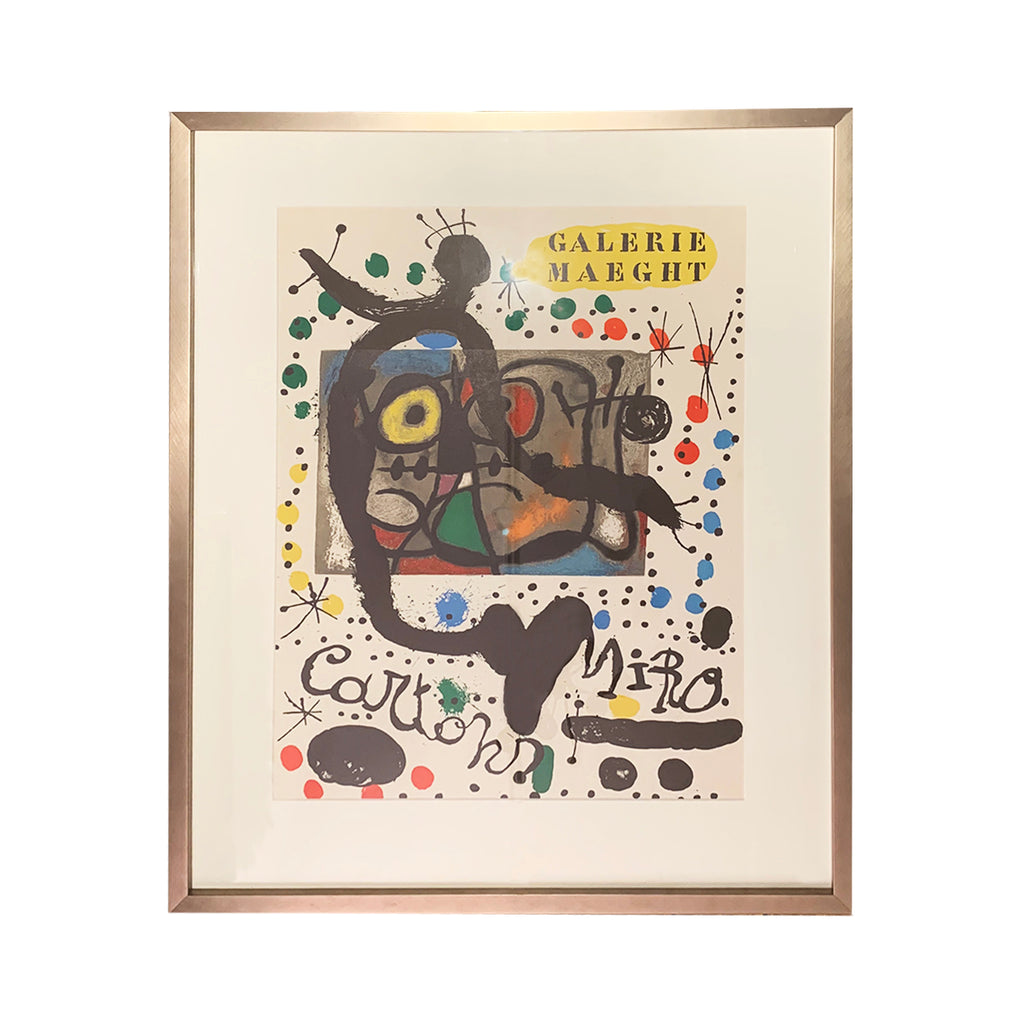 Vintage Galerie Maeght Poster By Miro