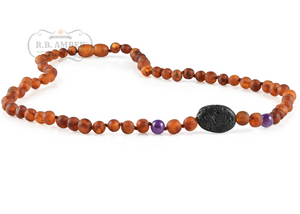 Baltic Amber Aromatherapy Necklace for Adults - R.B. Amber & Sons