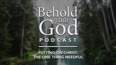 Putting on Christ: The One Thing Needful