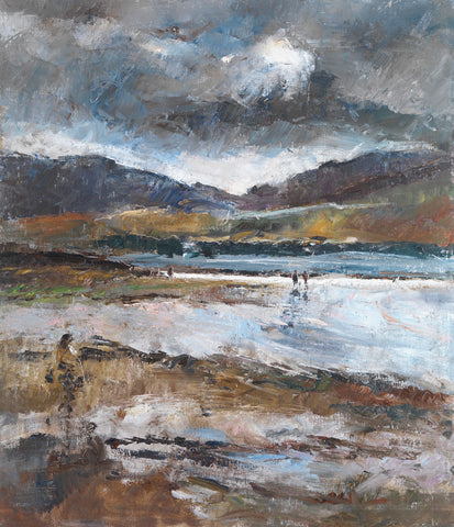 Blackwater Bay, Co. Kerry. - from the 'Oils' collection by Jane Corsellis