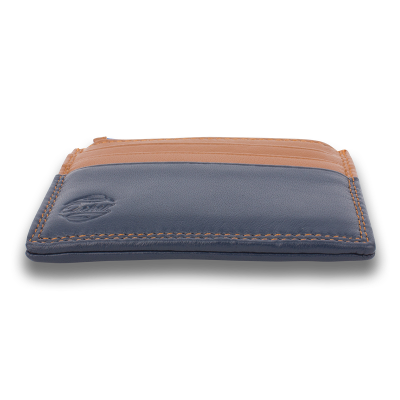 HEMLOCK: Wallet Brown Blue