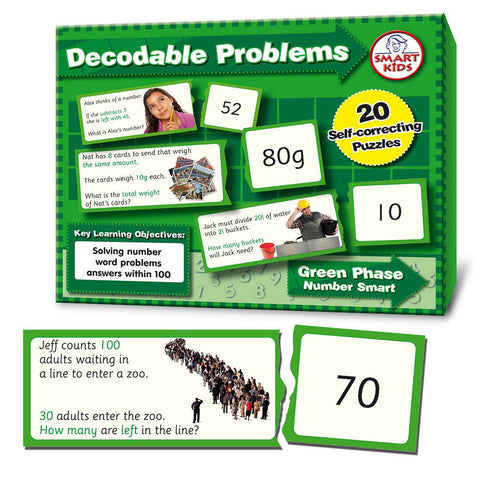 Decodable Word Problems to 100