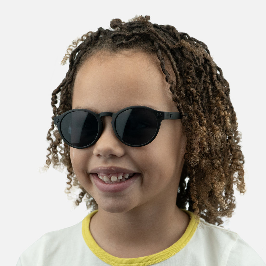 Junior Jazz - Black Street kids sunglasses