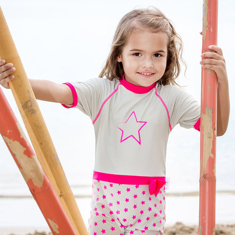 Girls Power UV Sunsuit