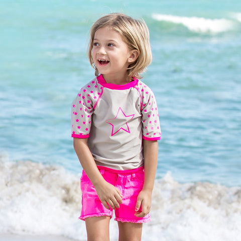 Girls Power UV Rash Vest