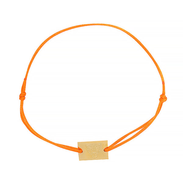 NO CHAOS Armband Stay Wild Tiger - Orange