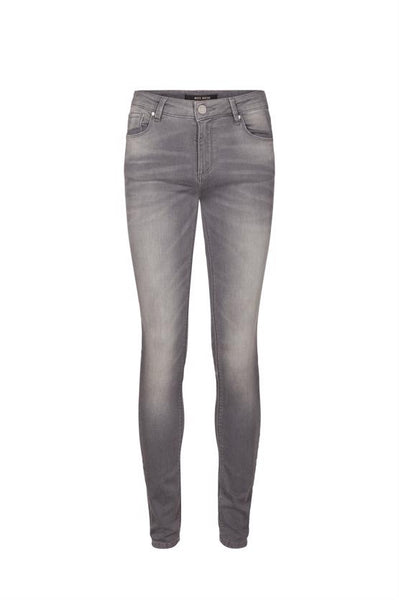 Mos Mosh Jade Cosy Jeans  - Light Grey