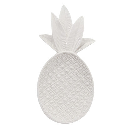 Bloomingville Pineapple schaal - wit